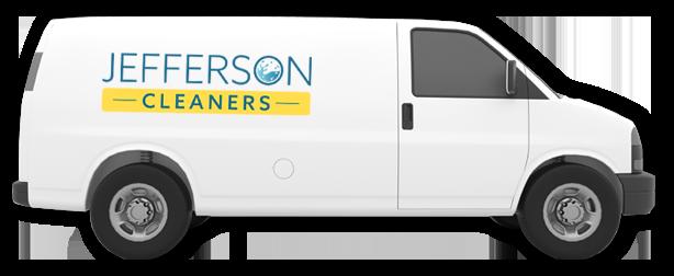 Jefferson Cleaners Van